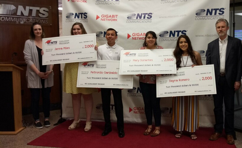 NTS Communications Awards $10,000 In Tuition Scholarships