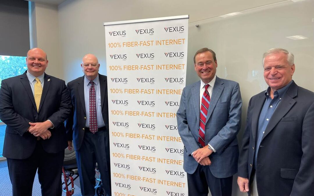 Vexus Fiber™ Announces Plans to Build New $50 Million Fiber Optic Network in Lake Charles, Sulphur and Westlake, LA
